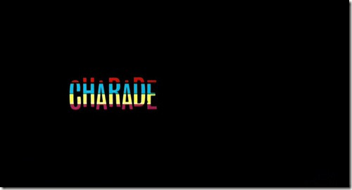 Charade Title Screen
