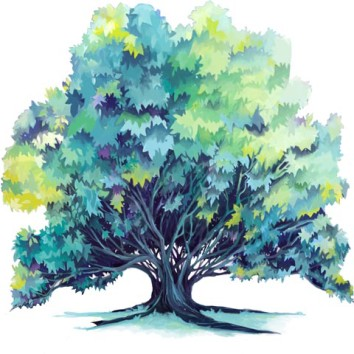 """White Tree"" in Trace-ings of an Illustrator"