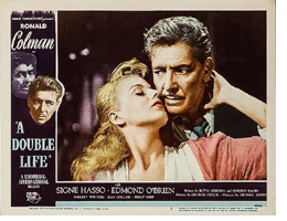 A Double Life Theatrical Poster