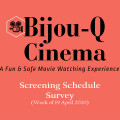 Bijou-Q Cinema Screen Survey