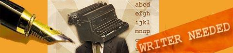 Writers Needed